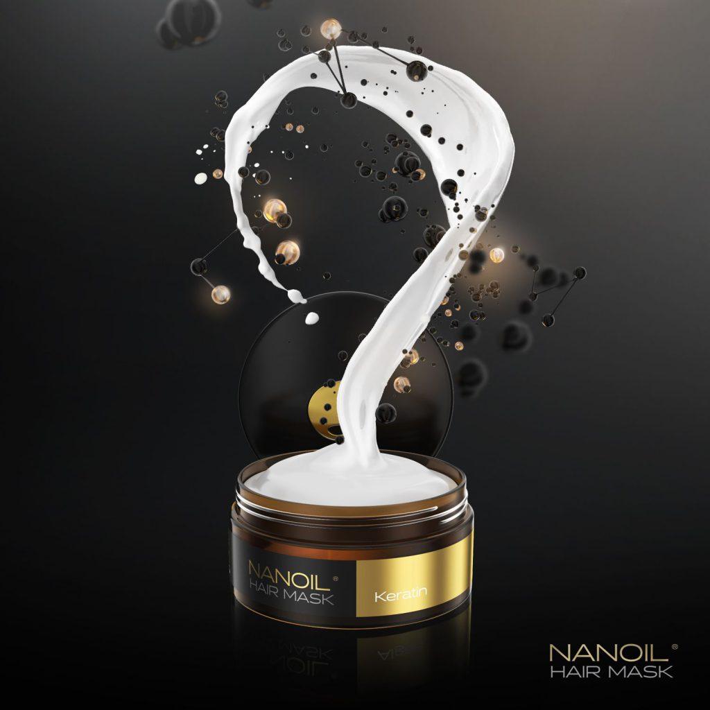 Nanoil - najlepsza keratynowa maska do włosów